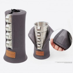 Camping Outdoor 4PC Mug Cup...