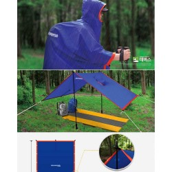 Camping Waterproof Poncho...