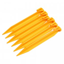Tent pegs 6PCS ABS Plastic...