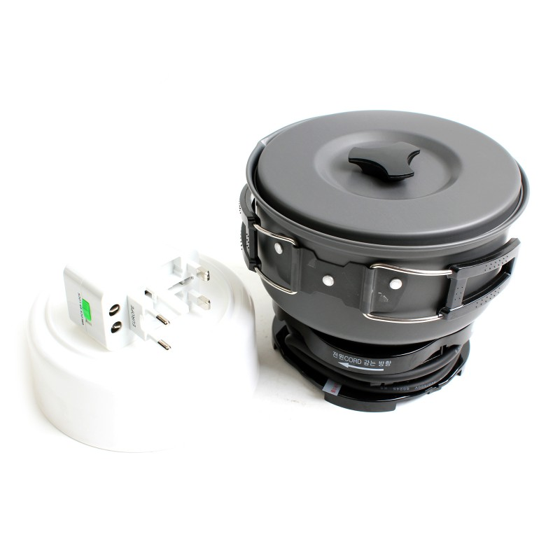 Portable Electric Travel Cooker Free Voltage 110 240v Stc