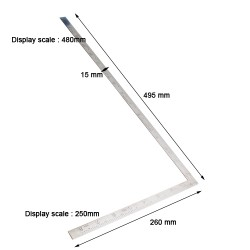 Right Angle Ruler Stainless...