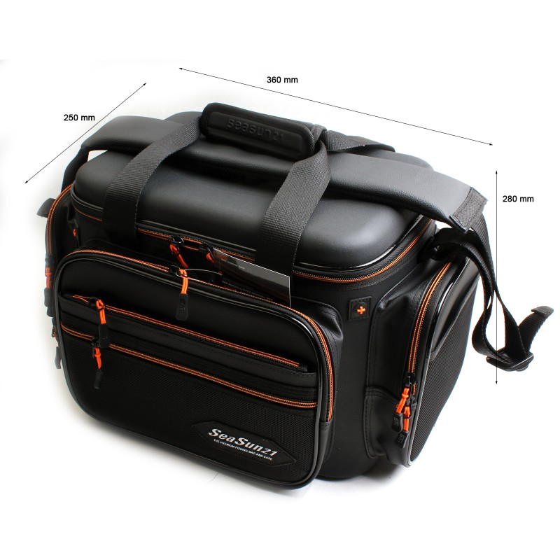 Portable Fishing Line Reel Tackle Bag Multi-function Carry Case Pouch Cover