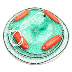 Foldable Fish Mesh Cage...