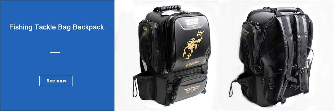 Fishing Tackle Bag Backpack